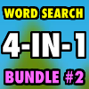 Word Search Bundle #2 4-in-1