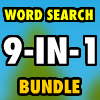 Word Search Bundle 9-in-1