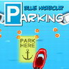 Blue harbor ship parking